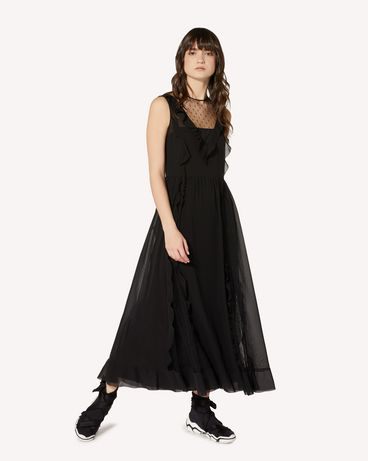 REDValentino SR3VAJ702GA 0NO Long dress Woman d