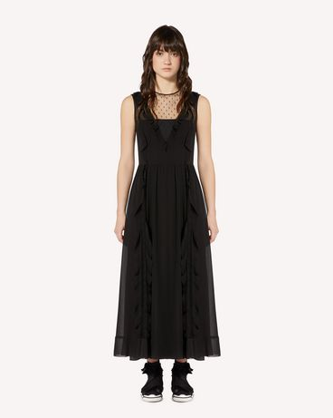 REDValentino SR3VAJ702GA 0NO Long and midi dresses Woman f