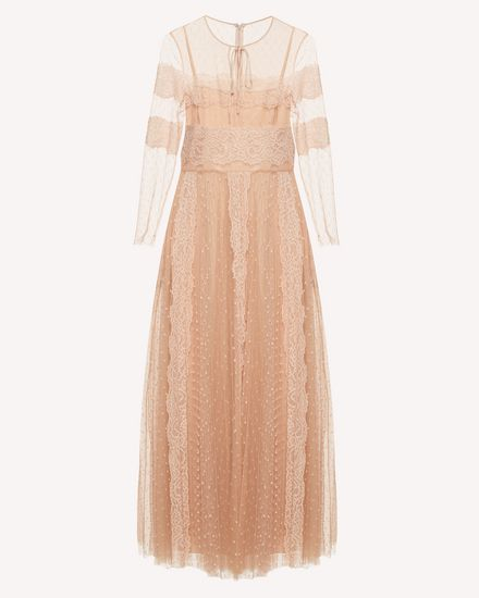 REDValentino Long dress Woman SR3VAJ65428 377 a