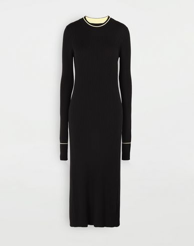 MAISON MARGIELA Open-back long top 3/4 length dress Woman f