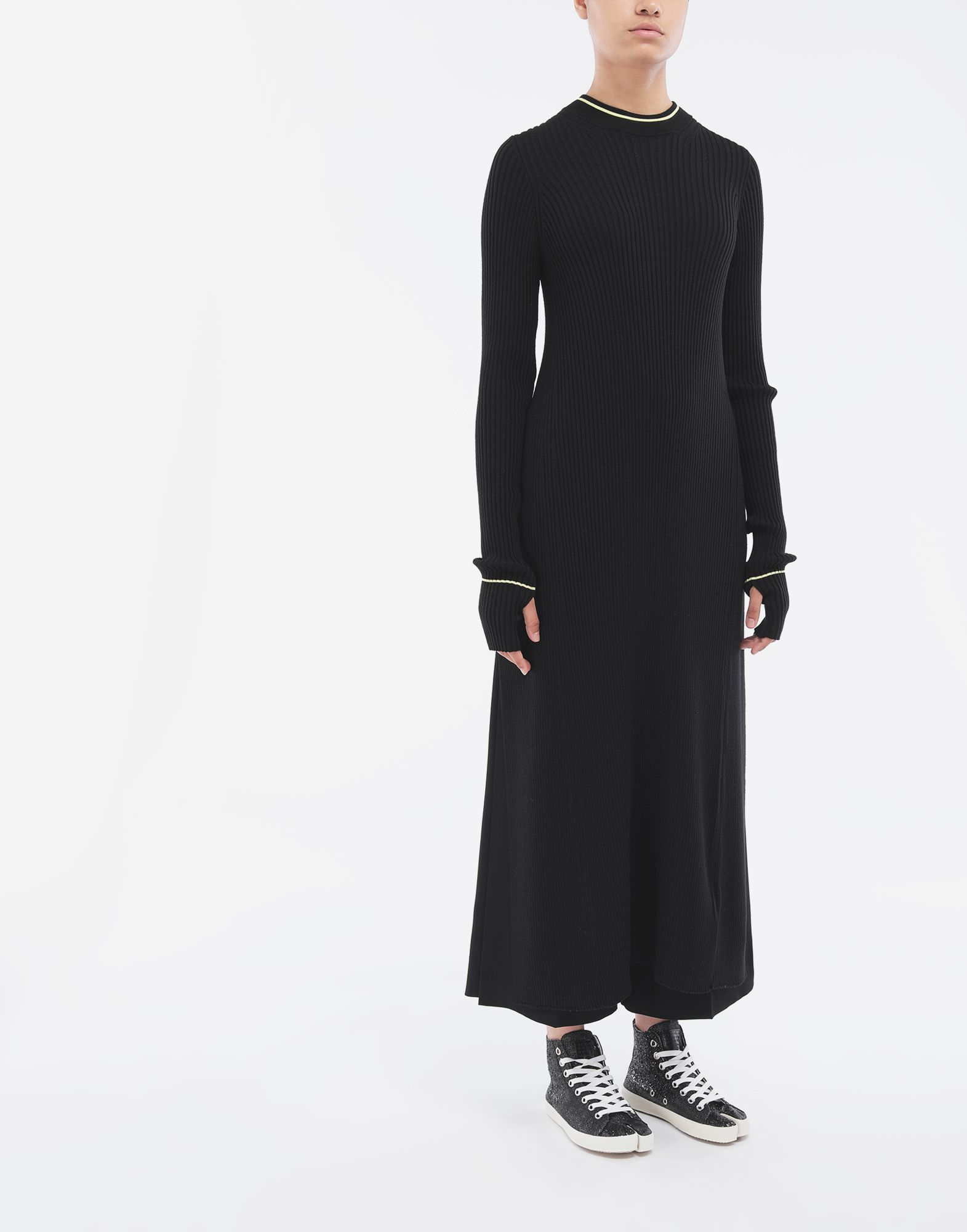MAISON MARGIELA Open-back long top 3/4 length dress Woman r