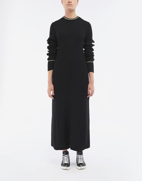 MAISON MARGIELA Open-back long top 3/4 length dress Woman d