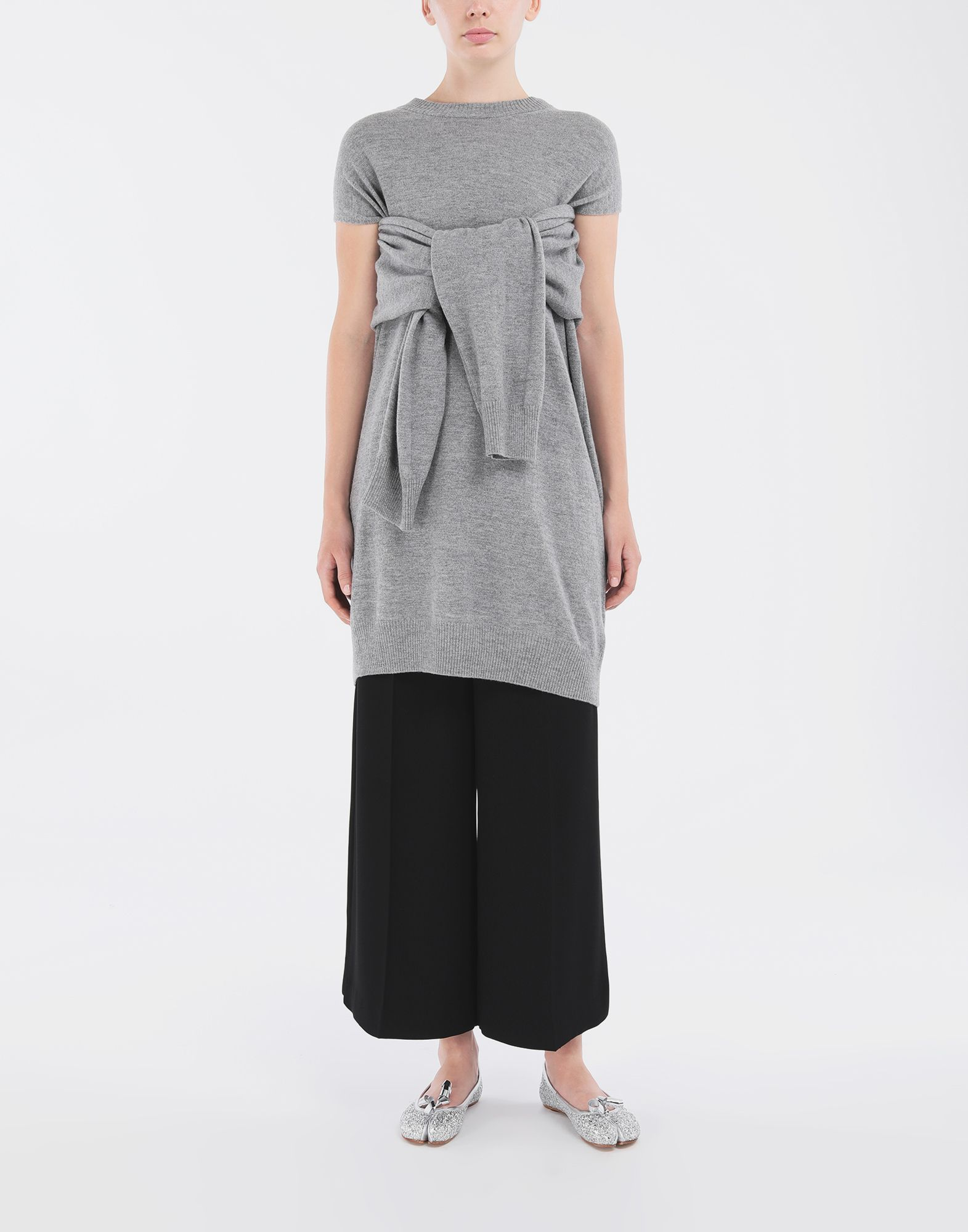 MAISON MARGIELA Sweater cut-out dress Short dress Woman d