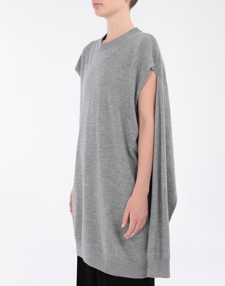 MAISON MARGIELA Sweater cut-out dress Dress Woman a