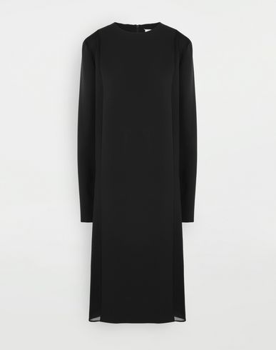 MAISON MARGIELA Spliced dress 3/4 length dress Woman f