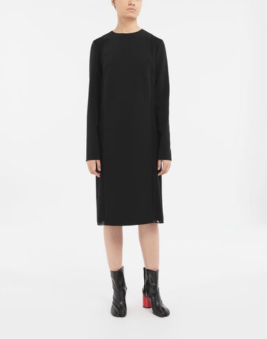 DRESSES Spliced dress Black