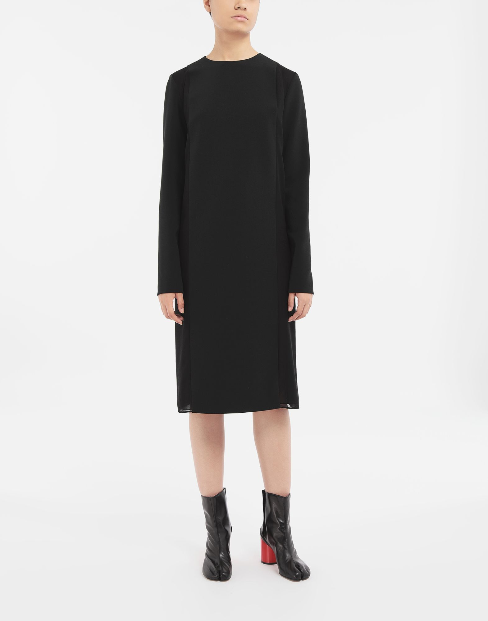 MAISON MARGIELA Spliced dress 3/4 length dress Woman r
