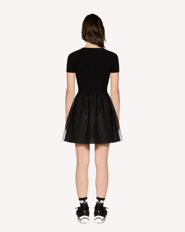 REDValentino SR3KDA704E5 0NO Knit Dress Woman r