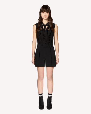 REDValentino Stretch frisottine jumpsuit