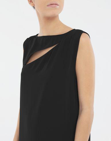 ワンピース・ドレス Décortiqué ジップ ドレス  ブラック