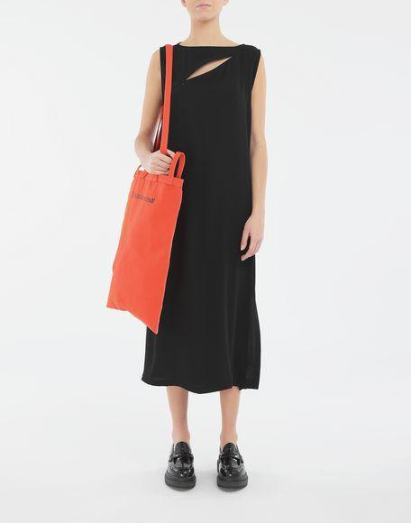 MM6 MAISON MARGIELA Платье с застёжкой-молнией в технике Décortiqué Платье миди Для Женщин d