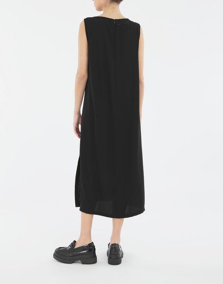 MM6 MAISON MARGIELA Платье с застёжкой-молнией в технике Décortiqué Платье миди Для Женщин e