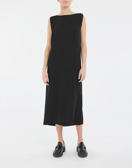 MM6 MAISON MARGIELA Платье с застёжкой-молнией в технике Décortiqué Платье миди Для Женщин r