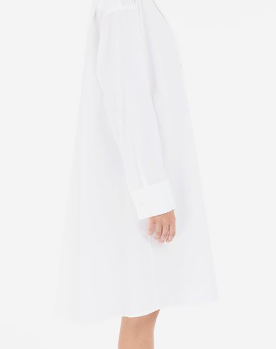 DRESSES Shirt-dress with belt White