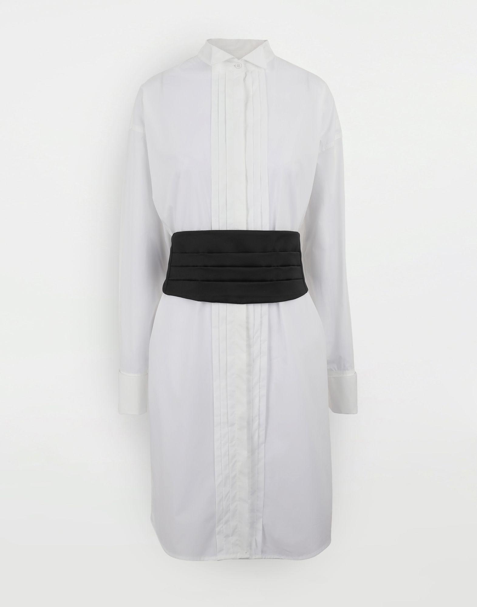 MM6 MAISON MARGIELA Shirt-dress with belt Short dress Woman f