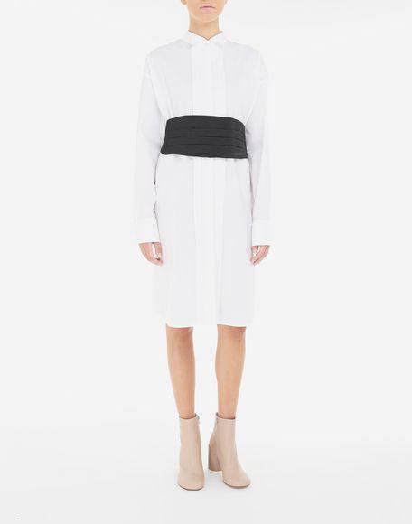 MM6 MAISON MARGIELA Shirt-dress with belt Short dress Woman r