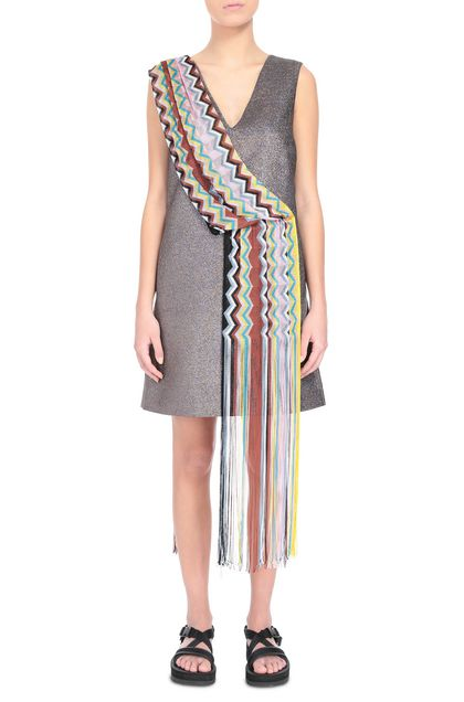 M MISSONI Dress Mauve Woman - Back