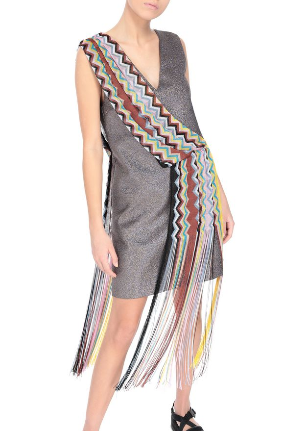 M MISSONI Dress Mauve Woman