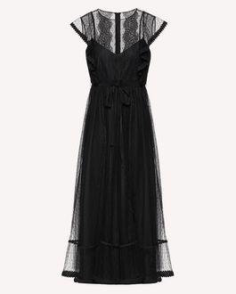 REDValentino Long dress Woman SR3VA03C4C5 0NO a