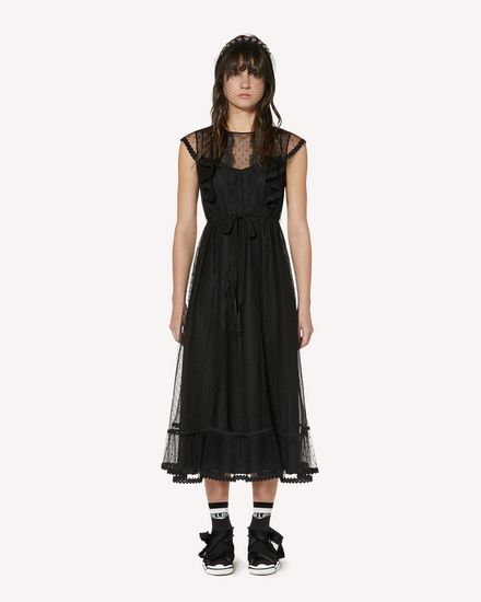 REDValentino Long and midi dresses Woman SR3VAF551GK 0NO f