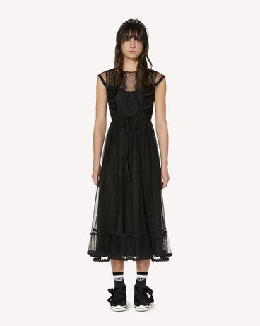 REDValentino SR3VAF551GK 0NO Long and midi dresses Woman f