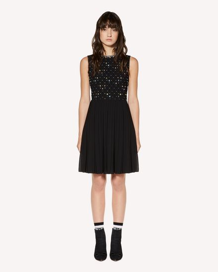 REDValentino Short dress Woman SR3VA03G4CB 0NO f