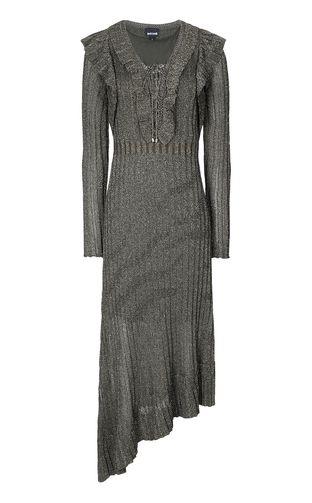 JUST CAVALLI Dress Woman Long dress in lurex f