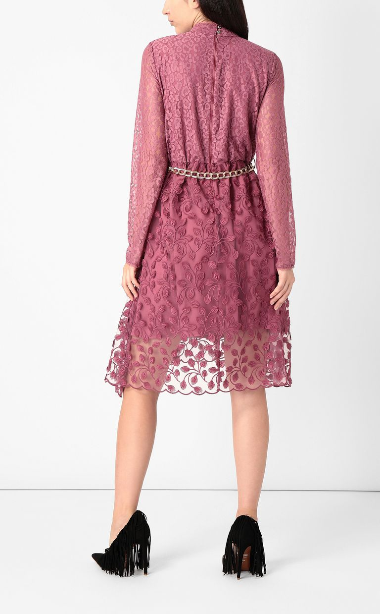 JUST CAVALLI Dress with floral embroidery Dress Woman a