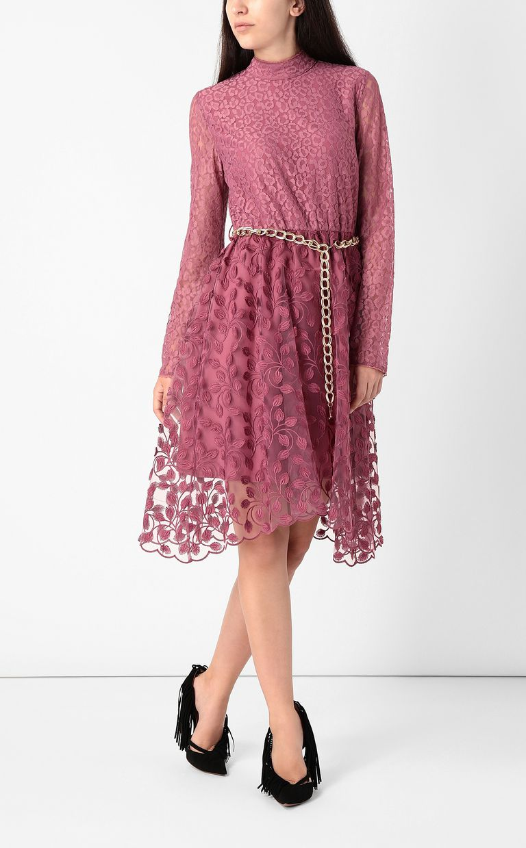 JUST CAVALLI Dress with floral embroidery Dress Woman d