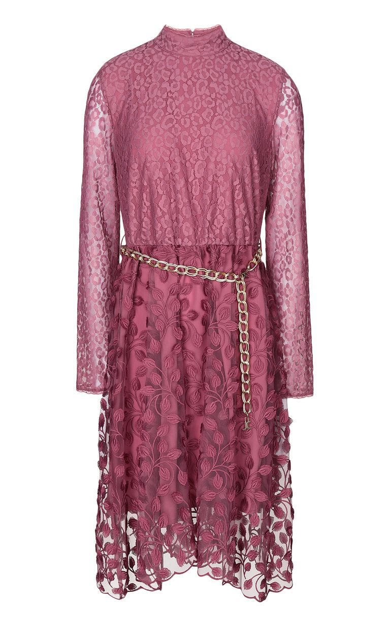 JUST CAVALLI Dress with floral embroidery Dress Woman f