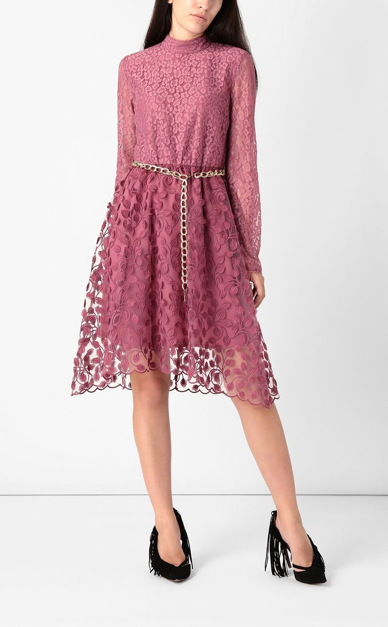 JUST CAVALLI Dress with floral embroidery Dress Woman r