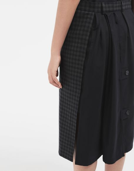 MAISON MARGIELA Reworked check dress 3/4 length dress Woman b