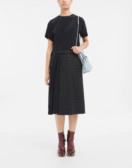MAISON MARGIELA Reworked check dress 3/4 length dress Woman d