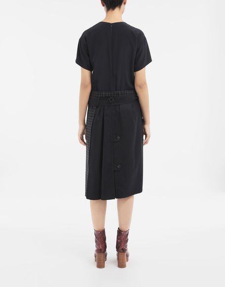 MAISON MARGIELA Reworked check dress 3/4 length dress Woman e