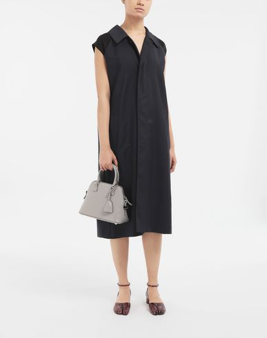 DRESSES Spliced midi dress Blue
