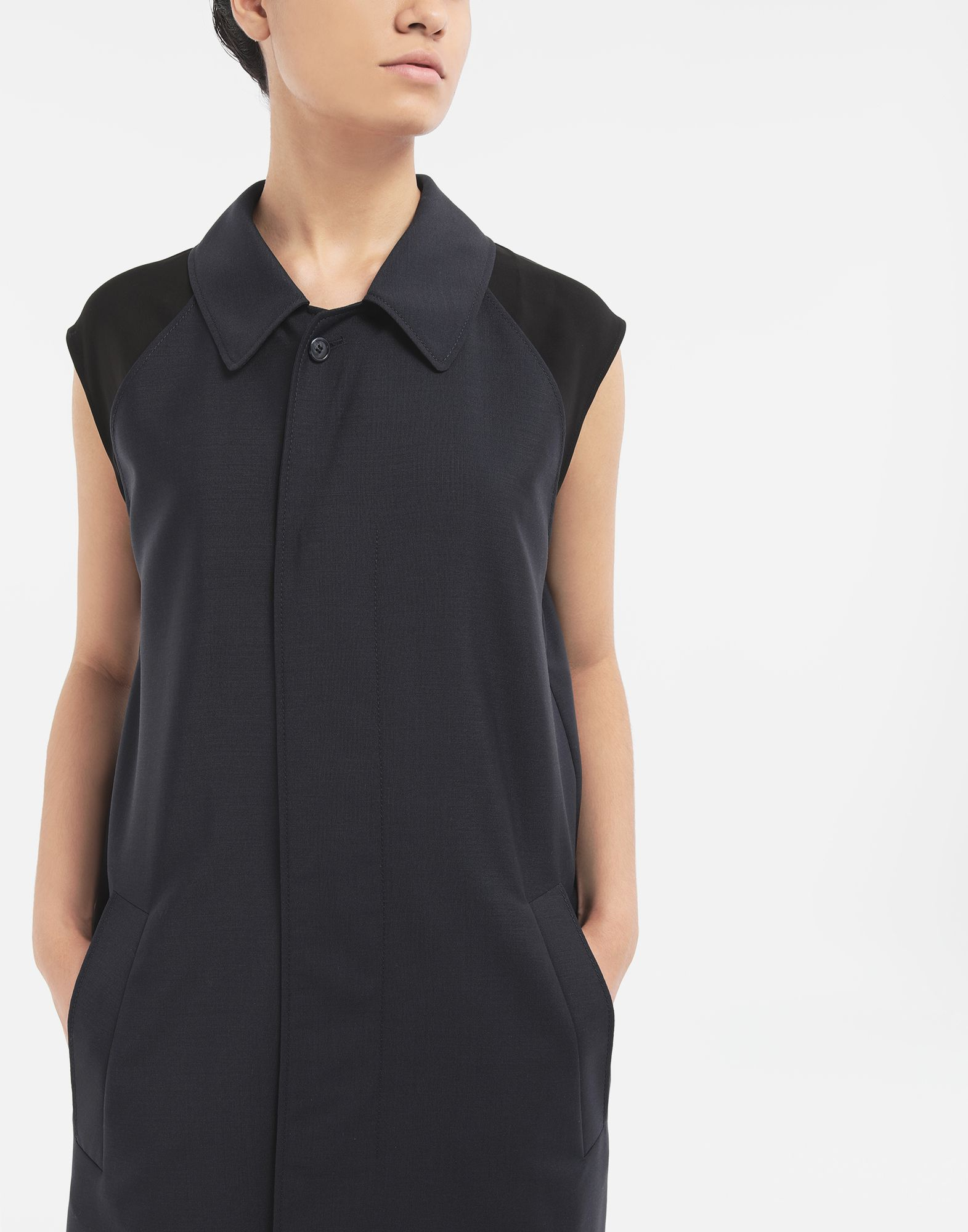 MAISON MARGIELA Spliced midi dress Dress Woman a