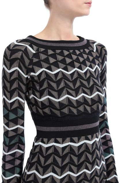 M MISSONI Dress Black Woman - Front