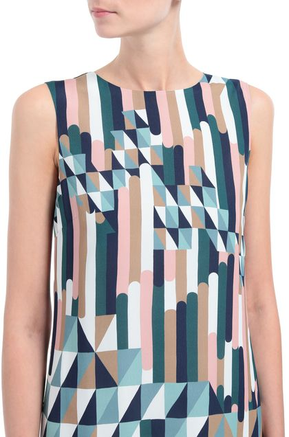 M MISSONI Dress Deep jade Woman - Front