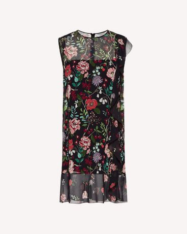 REDValentino SR3VAG054AN 0NO Printed dress Woman a