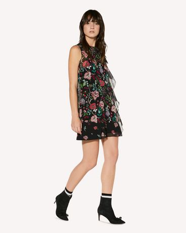 REDValentino SR3VAG054AN 0NO Printed dress Woman d