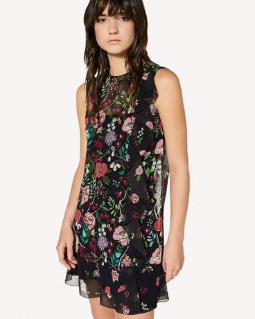 REDValentino SR3VAG054AN 0NO Printed dress Woman e
