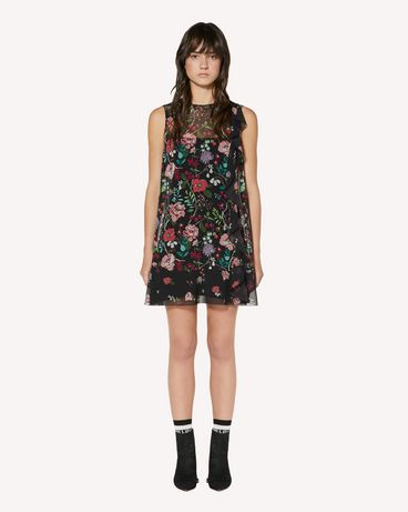 REDValentino SR3VAG054AN 0NO Printed dress Woman f