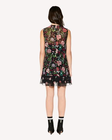 REDValentino SR3VAG054AN 0NO Printed dress Woman r