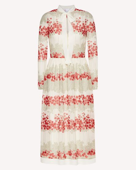 REDValentino Long dress Woman SR3VAG104B0 031 a
