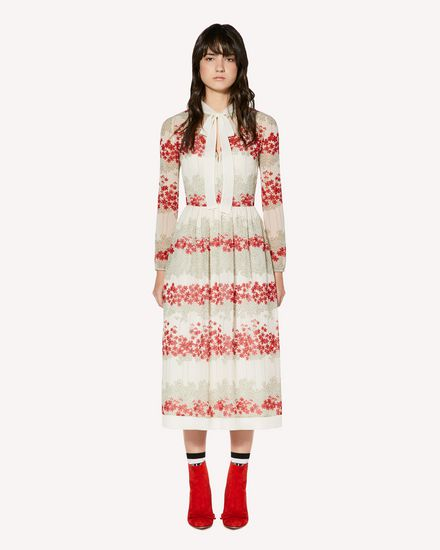 REDValentino Long dress Woman SR3VAG104B0 031 f