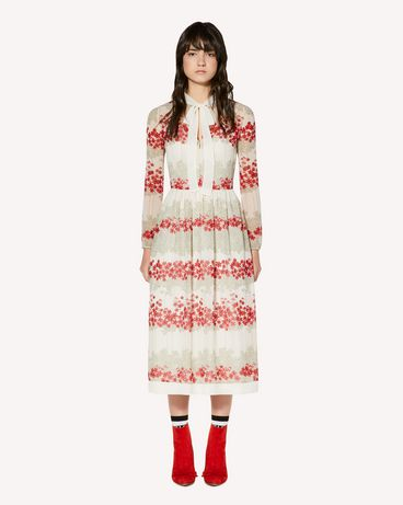 REDValentino SR3VAG104B0 031 Long and midi dresses Woman f