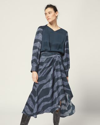 ISABEL MARANT LONG DRESS Woman ROMINA DRESS r