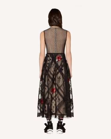 REDValentino SR3VA03H4CE 0NO Long dress Woman r