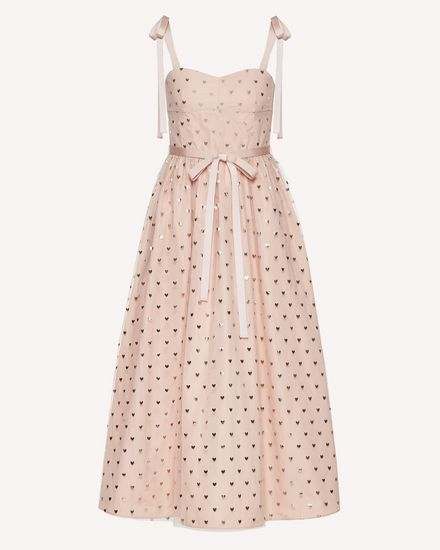REDValentino Long dress Woman SR3VA03L4CJ N17 a