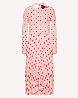 REDValentino Long and midi dresses Woman SR3VA03L4CJ N17 a